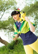 Cosplay-Cover: Mulan - (Pokémon Trainer Fanart)
