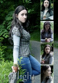 Cosplay-Cover: Bella Swan - arrive in forks (Twilight)