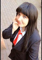 Cosplay-Cover: Rei Hino ♦ Black Suit Fanart