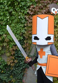 Cosplay-Cover: Orange Knight (Castle Crashers)