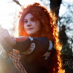 Cosplay: Prinzessin Merida
