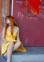Cosplay-Cover: Asuka Langley Soryu (Sommerkleid)