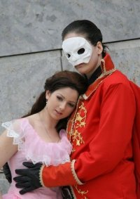 Cosplay-Cover: Christine Daae - Maskenball