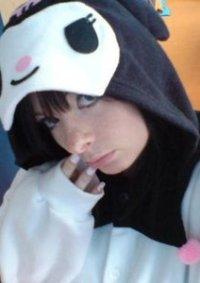 Cosplay-Cover: Kuromi~Kigurumi
