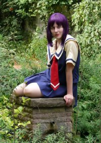 Cosplay-Cover: Karin Maaka [Schuluniform]