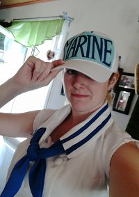 Cosplay-Cover: Marinesoldat