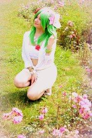 Cosplay-Cover: Shaymin (Summer Gijinka)