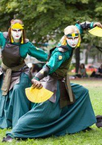 Cosplay-Cover: Kyoshi-Warrior