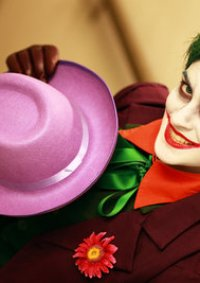 Cosplay-Cover: Joker (Comic Version)