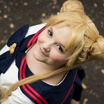 Cosplay-Cover: Usagi Tsukino [Finale Schuluniform]