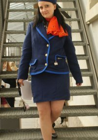 Cosplay-Cover: Stewardess
