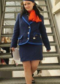 Cosplay-Cover: Stewardess