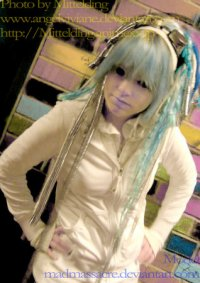 Cosplay-Cover: Ice blue Japanese Cyber