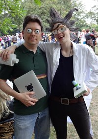 Cosplay-Cover: Jerry Smith (Rick & Morty)