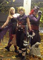 Cosplay-Cover: Axel Halloween (purple)