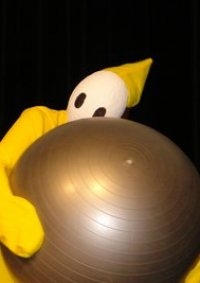 Cosplay-Cover: Shy Guy (Yellow)