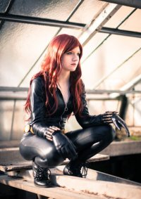 Cosplay-Cover: Black Widow (Comic Version)