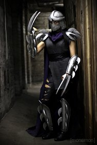 Cosplay-Cover: Shredder