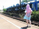Cosplay-Cover: Lacus Clyne ~ Zivil ~ Fields of Hope
