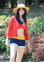 Cosplay-Cover: Monkey D. Luffy (female)