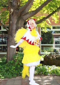 Cosplay-Cover: White Mage Chocobo