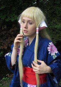Cosplay-Cover: Chii [Blue Yukata/Kimono, Anime-/Mangaversion]