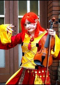 Cosplay-Cover: Einsame Violinistin