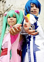 Cosplay-Cover: Hatsune Miku [Project Diva-Yukata Version]