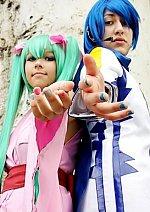Cosplay-Cover: Hatsune Miku [Project Diva-Yukata Version]