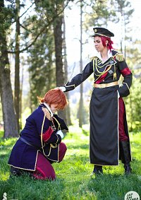 Cosplay-Cover: Mikoto Suoh Military