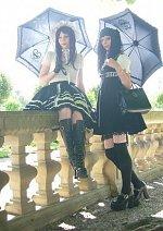Cosplay-Cover: lolita (ap schwarz/weiß rock) 3
