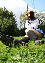 Cosplay-Cover: Haruhi [Schuluniform]