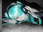 Cosplay-Cover: Miku