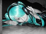 Cosplay-Cover: Miku