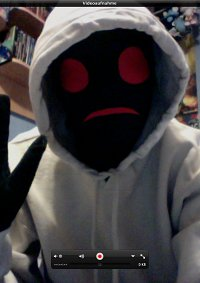 Cosplay-Cover: Hoodie (Marble Hornets)