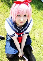 Cosplay-Cover: Sakura Haruno (Konoha Highschool)
