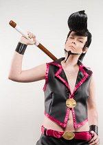Cosplay-Cover: Holzschwert Ryu