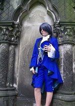 Cosplay-Cover: Ciel Phantomhive (Blue Version)