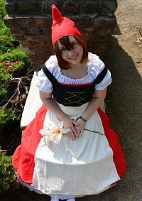 Cosplay-Cover: Julia (Gnomeo und Julia)