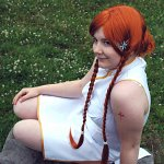 Cosplay-Cover: Inoue Orihime [Kalenderversion]