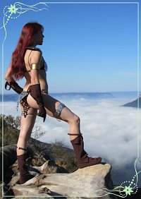 Cosplay-Cover: Red Sonja