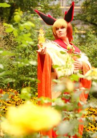 Cosplay-Cover: Flamara-Gijinka