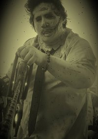 Cosplay-Cover: Leatherface
