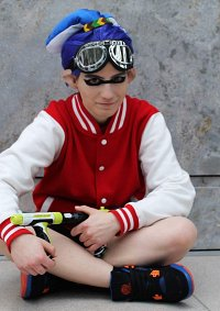 Cosplay-Cover: Inkling Boy [blue]