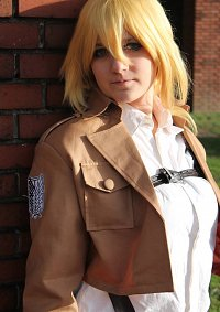 Cosplay-Cover: Historia Reiss - Scouting Legion