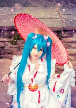 Cosplay-Cover: Miku Hatsune (Olympic 2020 Version)