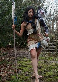 Cosplay-Cover: Pocahontas (Twisted Princess)