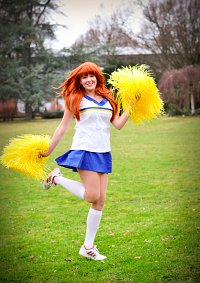 Cosplay-Cover: Mikuru Asahina [Cheerleader]