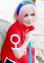 Cosplay-Cover: Sakura Haruno (Basic Outfit)