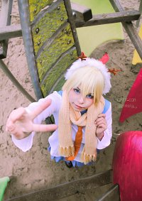 Cosplay-Cover: Kirisaki Chitoge ~Winter Uniform~